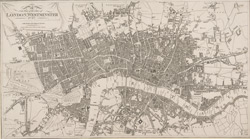A new plan of the cities of London, Westminster &c. &c. with all the new improvement